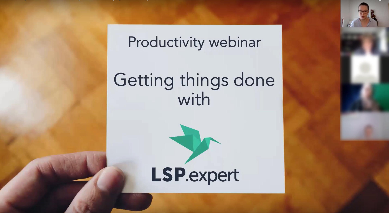 Productivité LSP